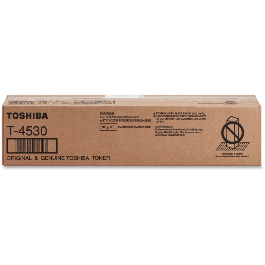 Toshiba T4530 Original Toner Cartridge - Laser - 30000 Pages - Black - 1  Each