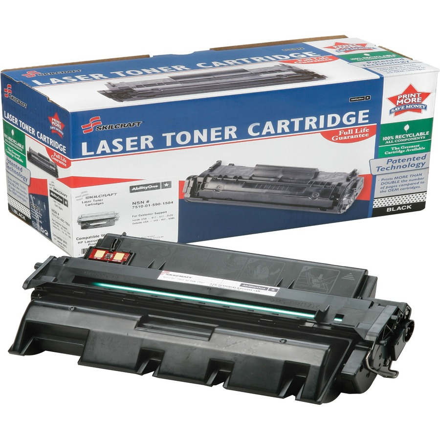 8 Pack Q7553A 53A Black Toner Cartridge Compatible for HP LaserJet M2727 MFP