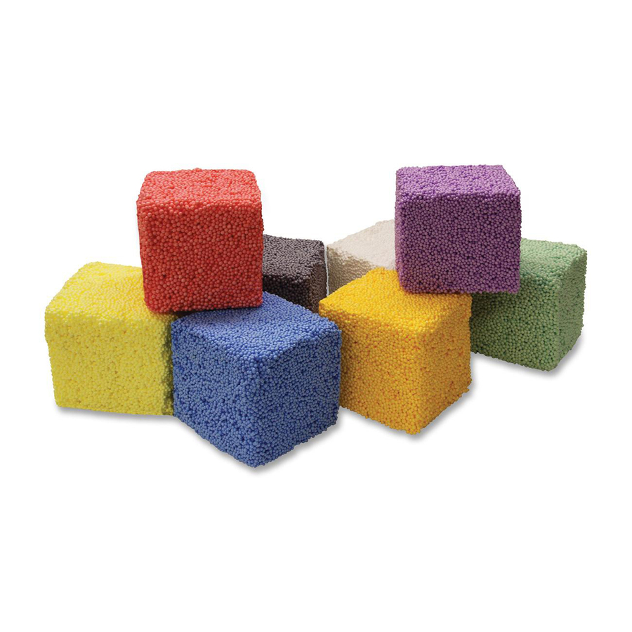 Squishy Foam : CKC96521 ChenilleKraft Squishy Foam Block - Zuma
