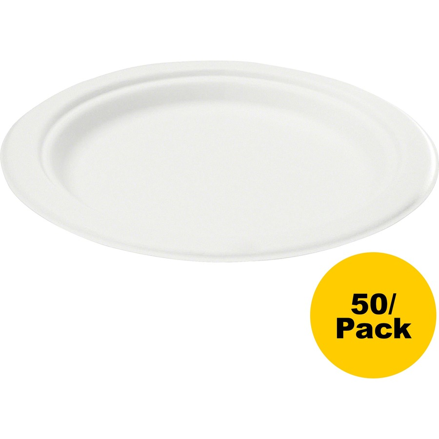 Savannah Supplies Bage Disposable Plates Svap001