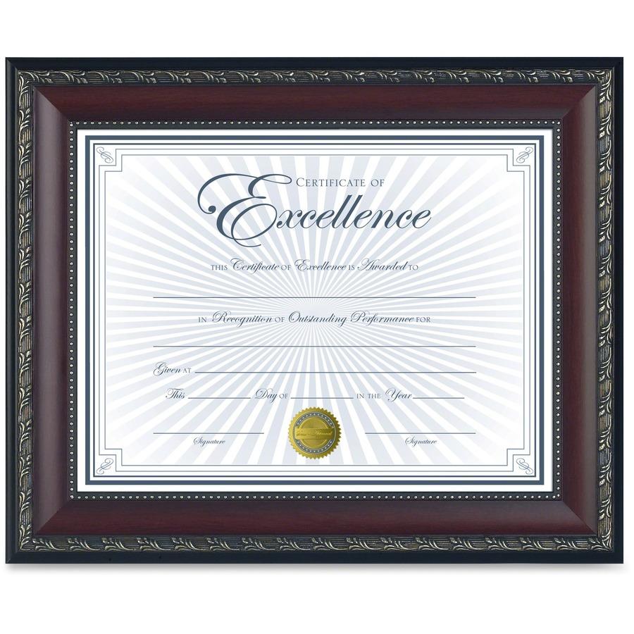 Dax Burns Group Gold Accent World Class Document Frame - Latson\'s ...