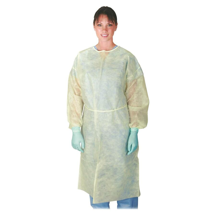 Medline Polypropylene Isolation Gowns - Direct Office Buys