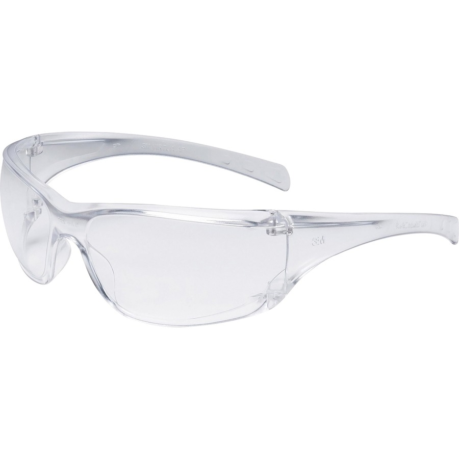 57973eb40ed2 3M Virtua AP Safety Glasses - Lightweight, Comfortable, Side Shield, Anti- fog, Wraparound Lens - Ultraviolet Protection - Polycarbonate Lens - Clear  - 20 / ...