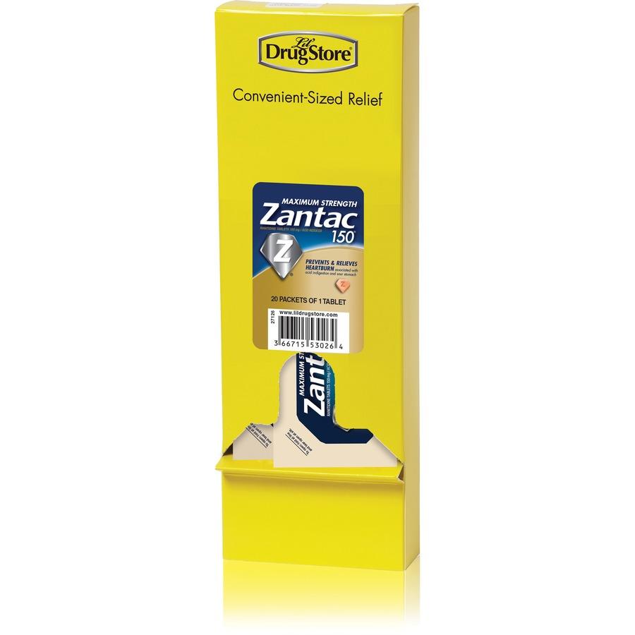 Bulk Lil' Drug Store Sngl-dose Max Strength Zantac 150 LIL53026
