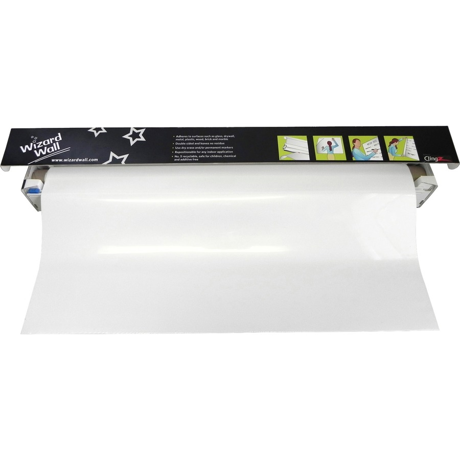 Wizard Wall Jumbo Dry Erase Film Cartridge Wzw27540sbw