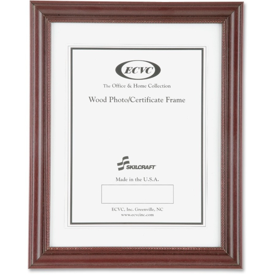 NSN3579978 - SKILCRAFT Cherry Wood Frames - Office Supply Hut