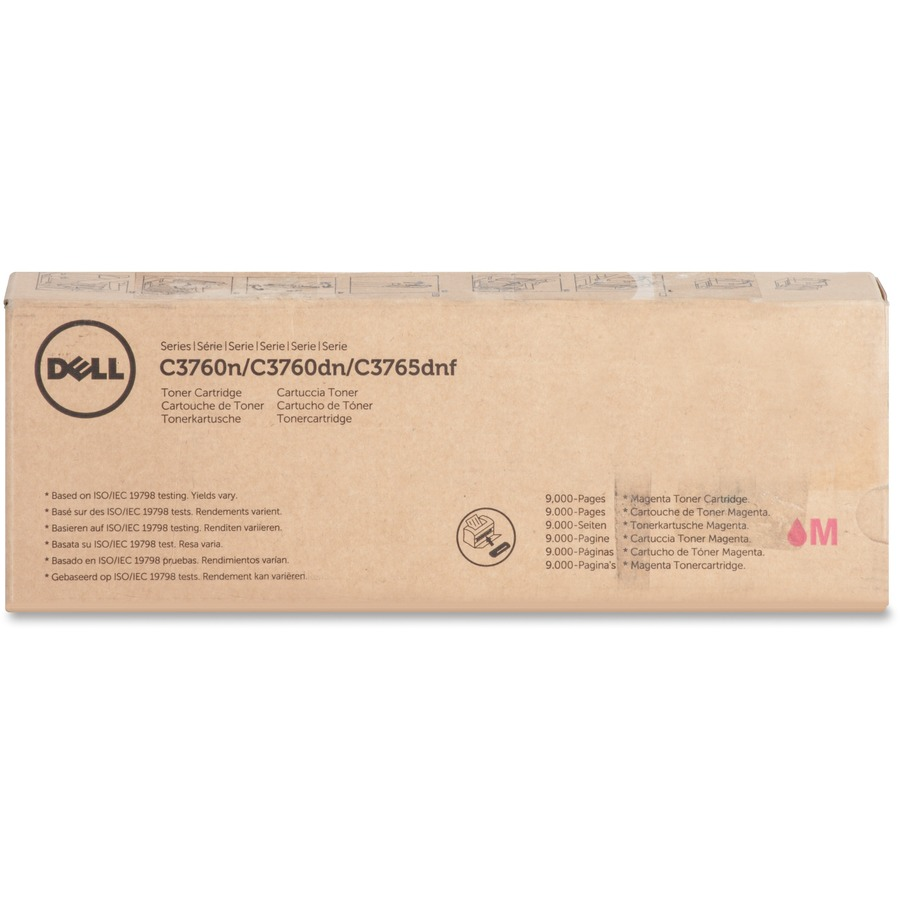 1 X Cyan Dell 9000 Pages Toner Cartridge