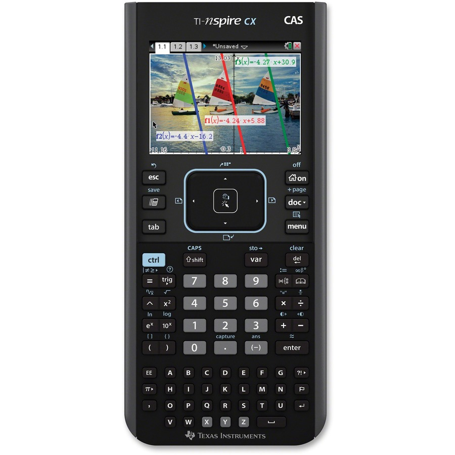 Texas Instruments Nspire Cx Cas Graphing Calculator Direct Office Buys