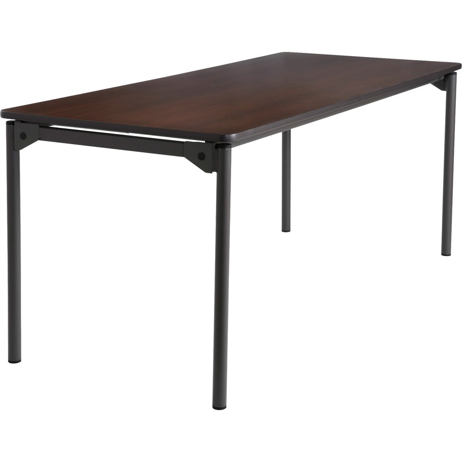 Iceberg Maxx Legroom Wood Folding Table