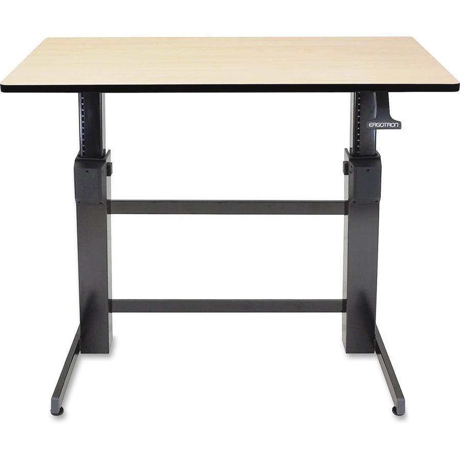 Ergotron WorkFit-D, Sit-Stand Desk (Birch Surface) ERG24271928