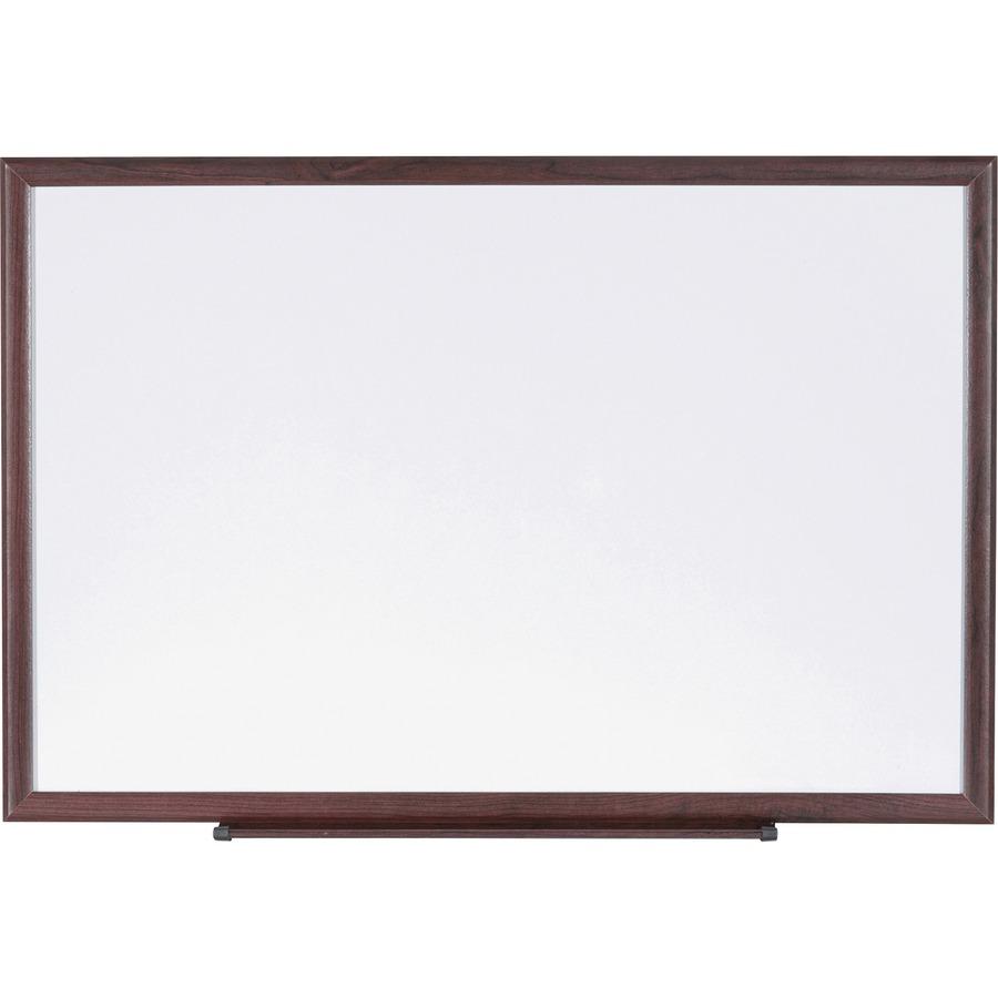 Lorell Wood Frame Dry-Erase Marker Boards