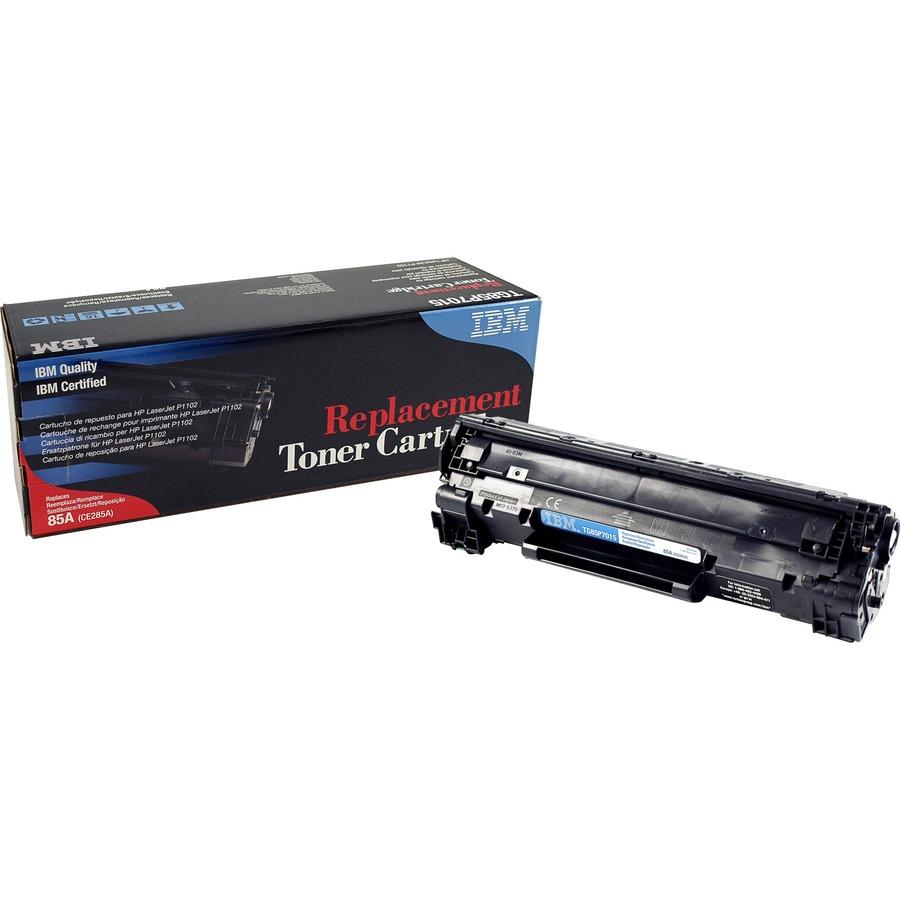 Ibmtg85p7015 Ibm Remanufactured Toner Cartridge Alternative For Compatible Printer P1102 Ce285a 85a Laserjet Hp