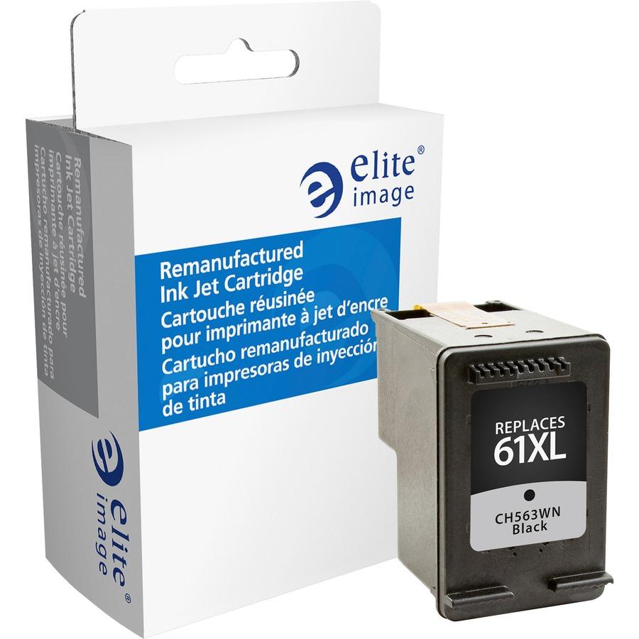 Eli75803 Elite Image Remanufactured Ink Cartridge Alternative Tinta Hp 45 Black Original For 61xl Ch563wn