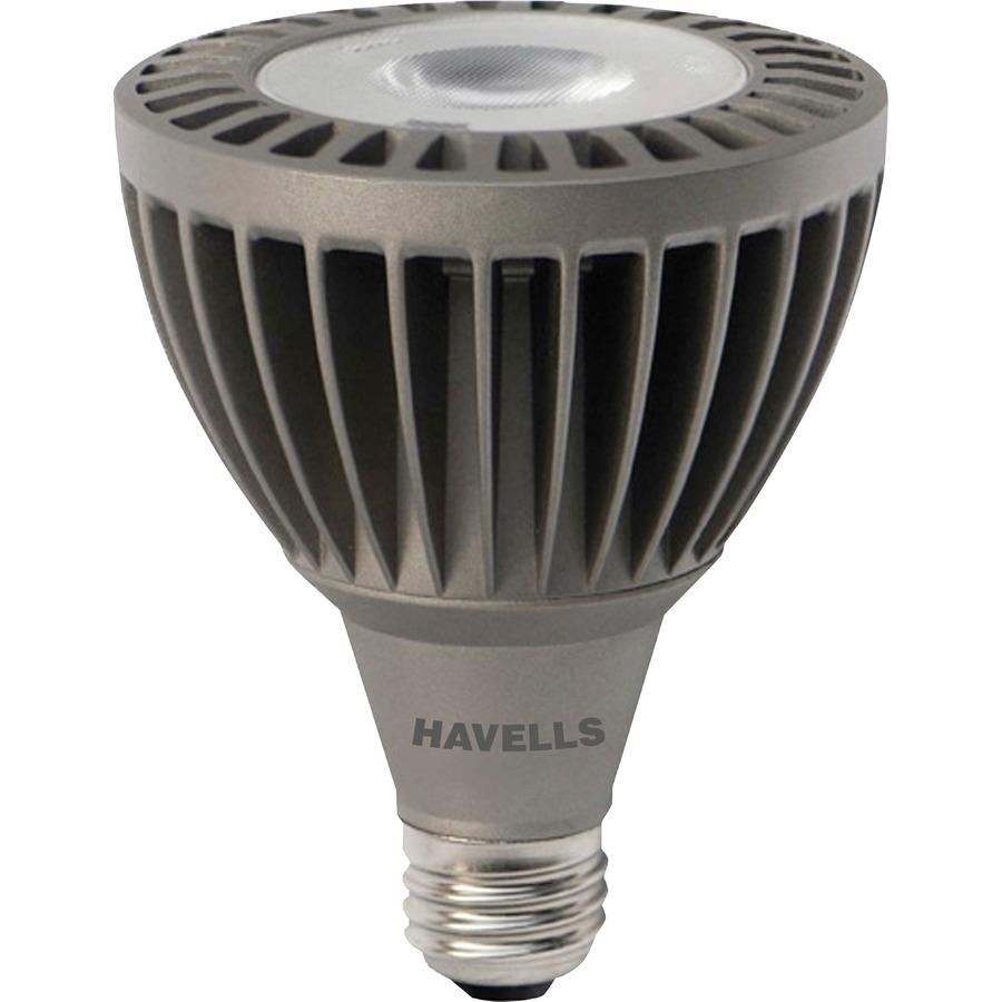Led Flood Light Bulb Sizes: Havells LED Flood PAR30 Light Bulb