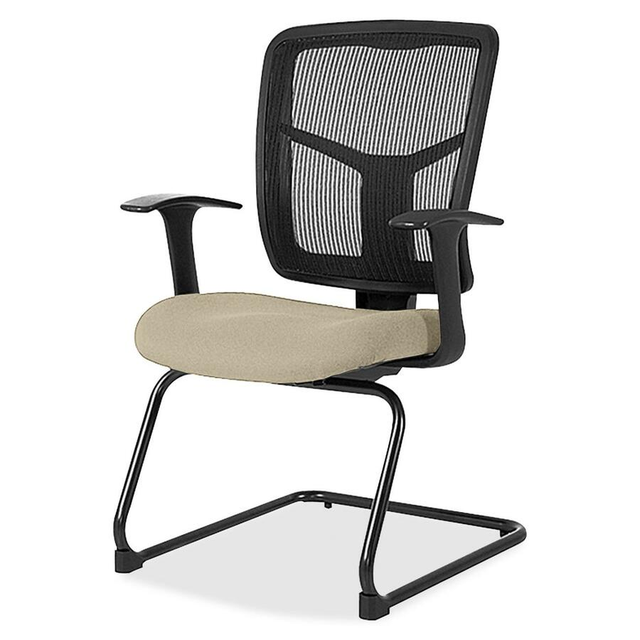 Lorell Ergomesh Series Mesh Side Arm Guest Chair Office Supply Hut