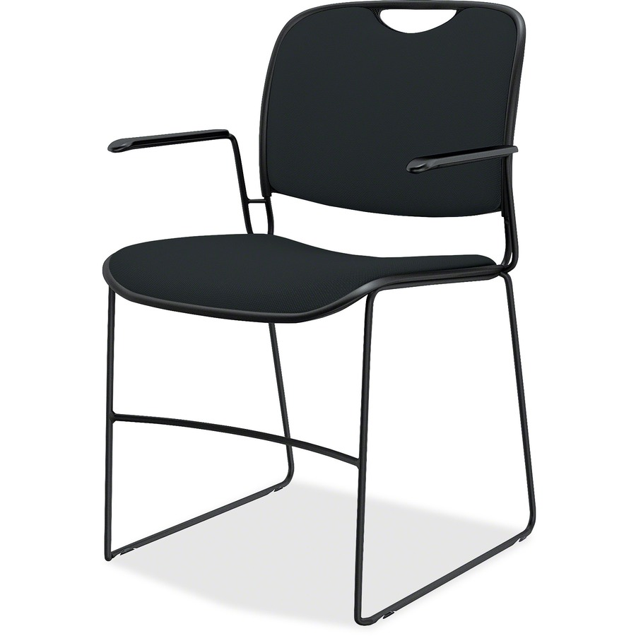 United Chair Upholstered Stack Chair with Arms UNCFE4FS03CP85