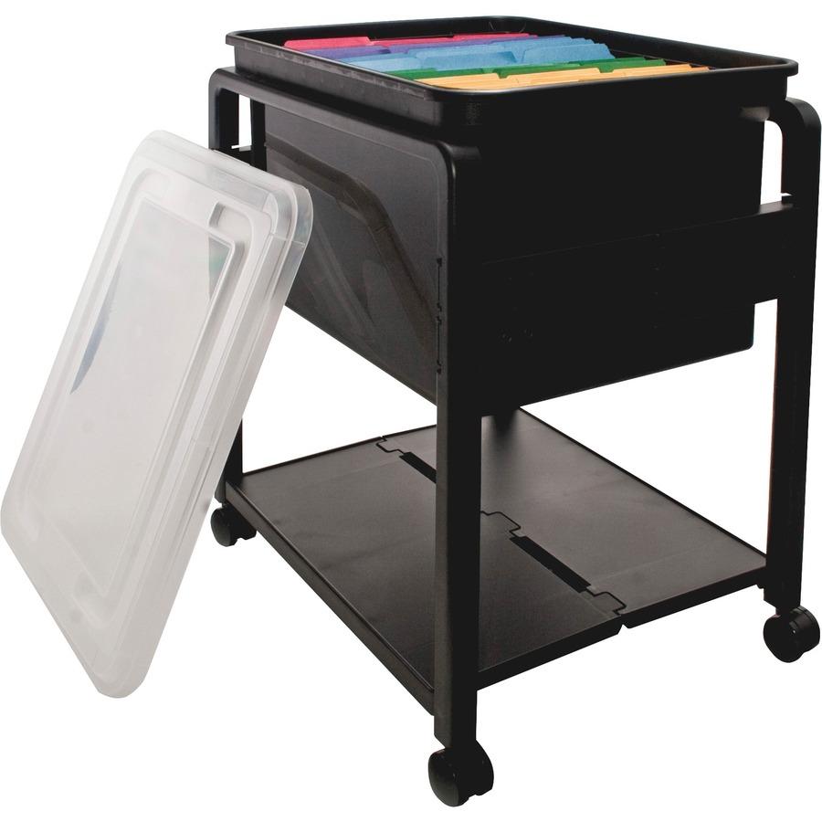 Advantus Folding Mobile Filing Cart