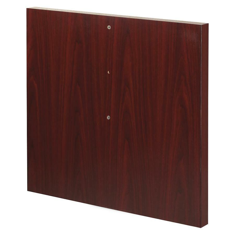Lorell modular mahogany conf table components llr