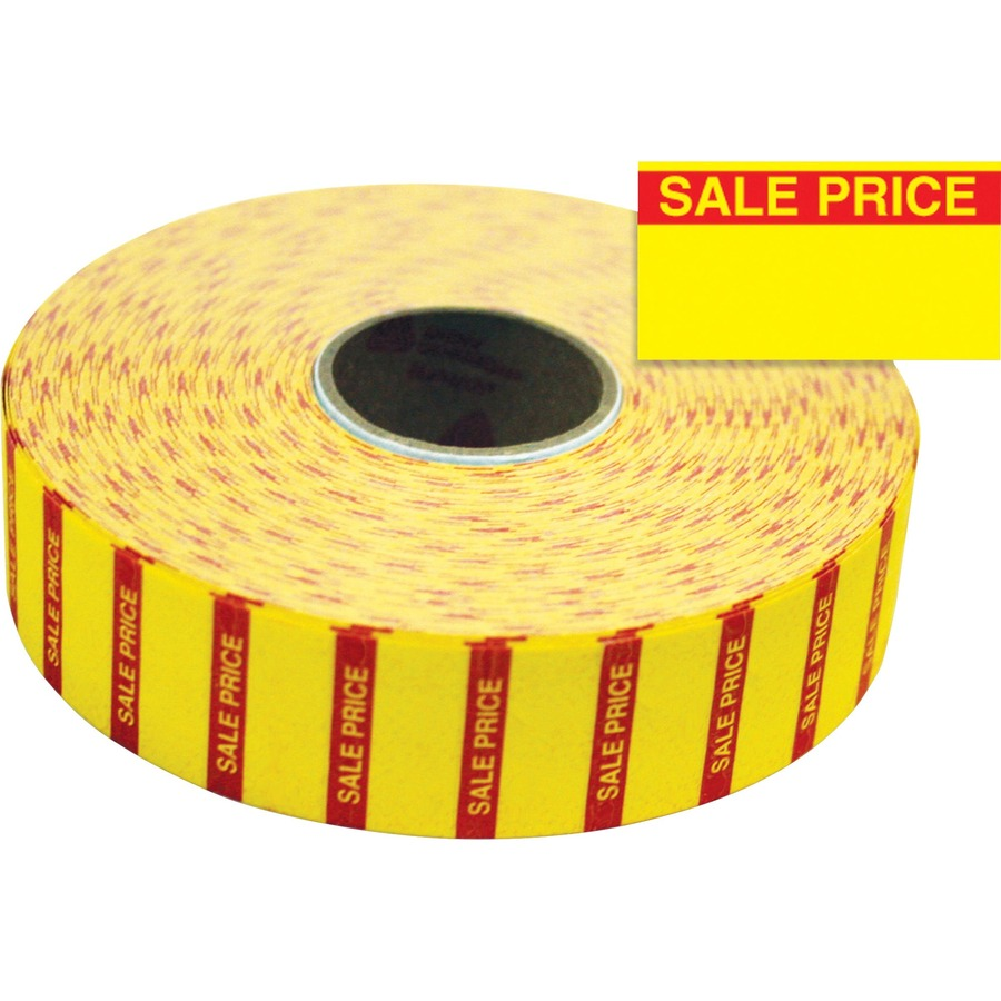 Monarch Yellow Price Labels Mnk925144