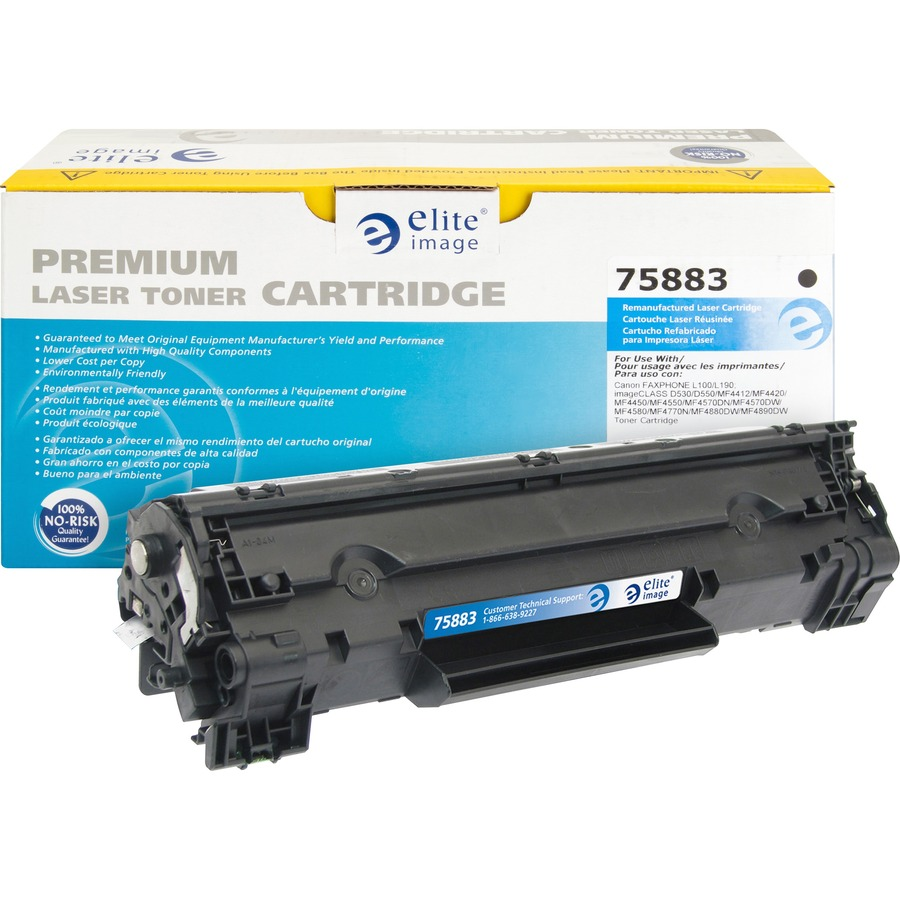 Elite Image Remanufactured Toner Cartridge Alternative For Canon 128 Eli75883