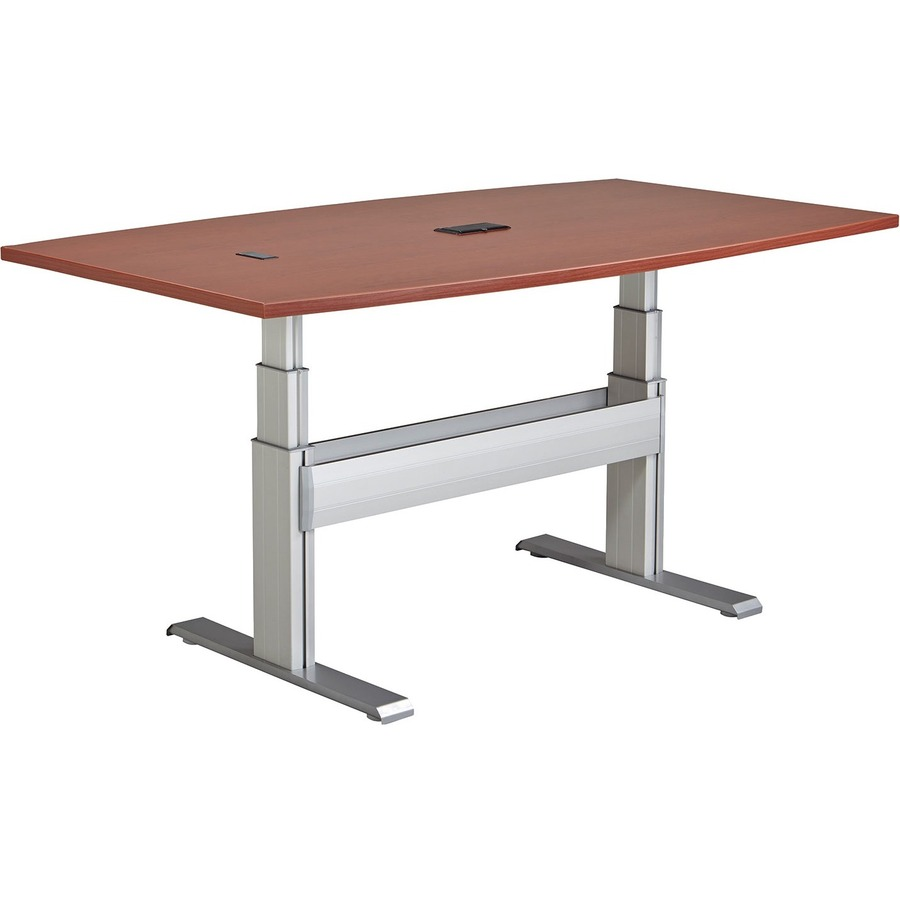 RAANXCTBBC Ergonomic X Conference Table With Support - 72 conference table