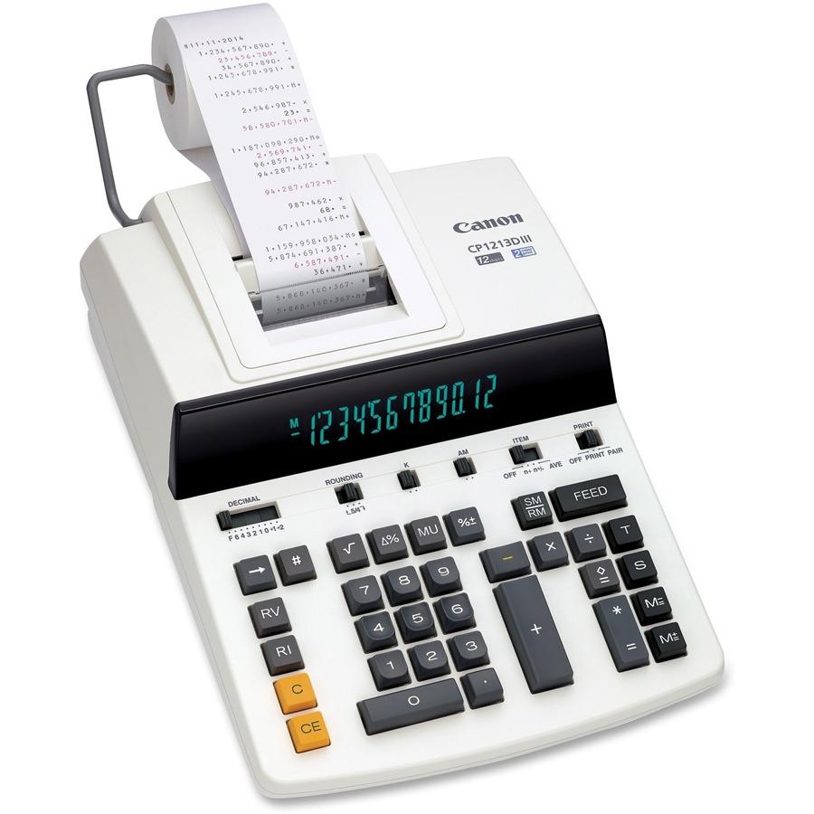 Cnmcp1213diii Canon Cp1213diii Desktop Printing Calculator