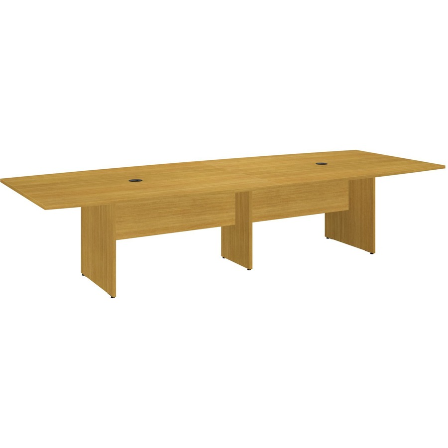 Bush business furniture 120l x 48w boat top conference for 120 conference table