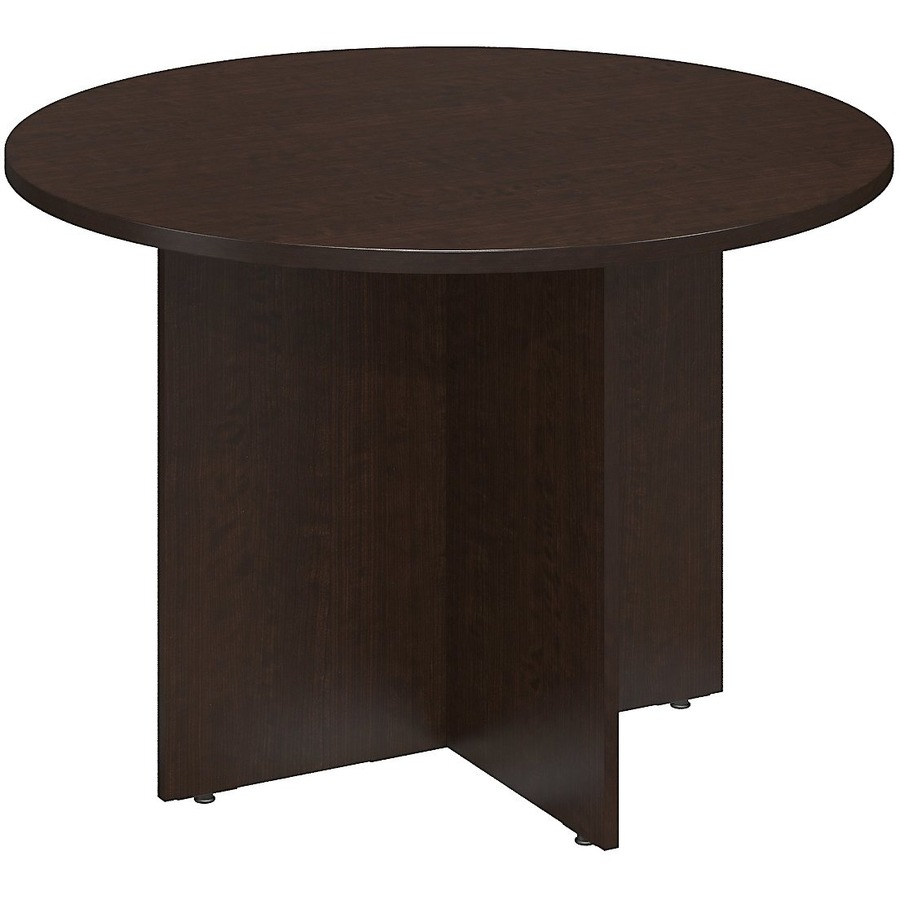 Bush business furniture series c 42w round conference for Round table 99 rosenheim