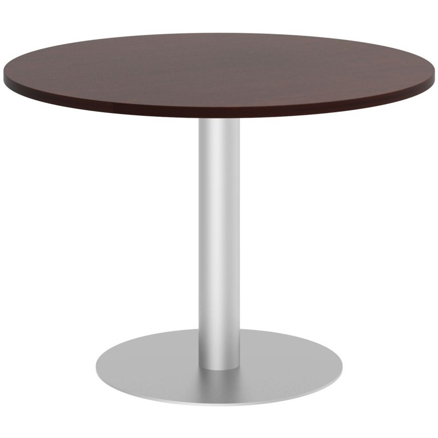 BSHTBDRCSSVK Bush Business Furniture W Round Conference Table - Round pedestal conference table