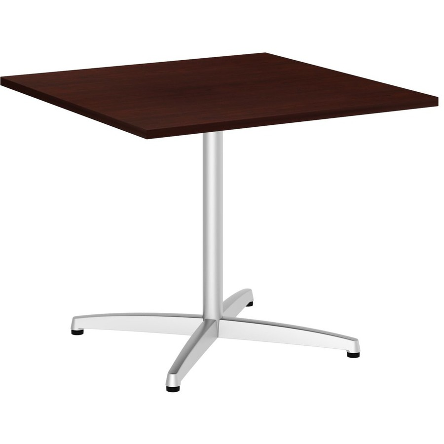 Bbf 36w Square Conference Table Metal X Base