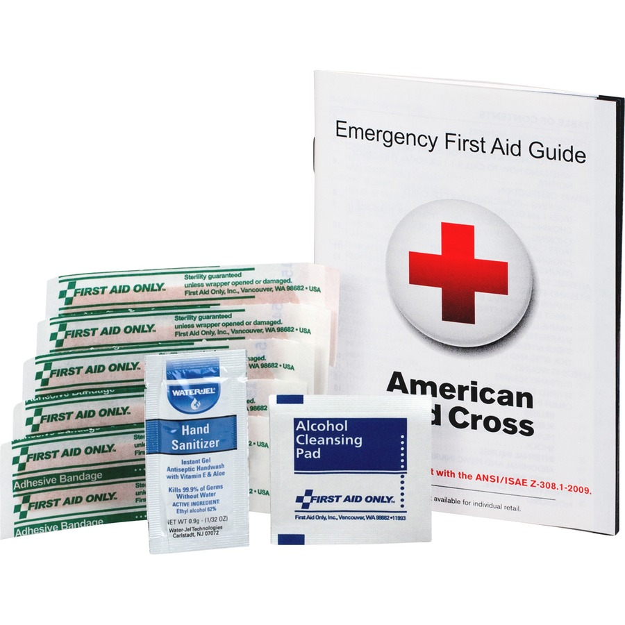 First Aid Only First Aid Guide Refill Kit FAOFAE6017
