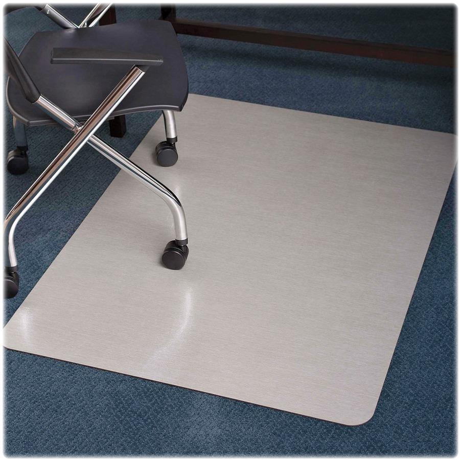 Bulk ES Robbins Trendsetter Med pile Silver Chairmat ESR119338