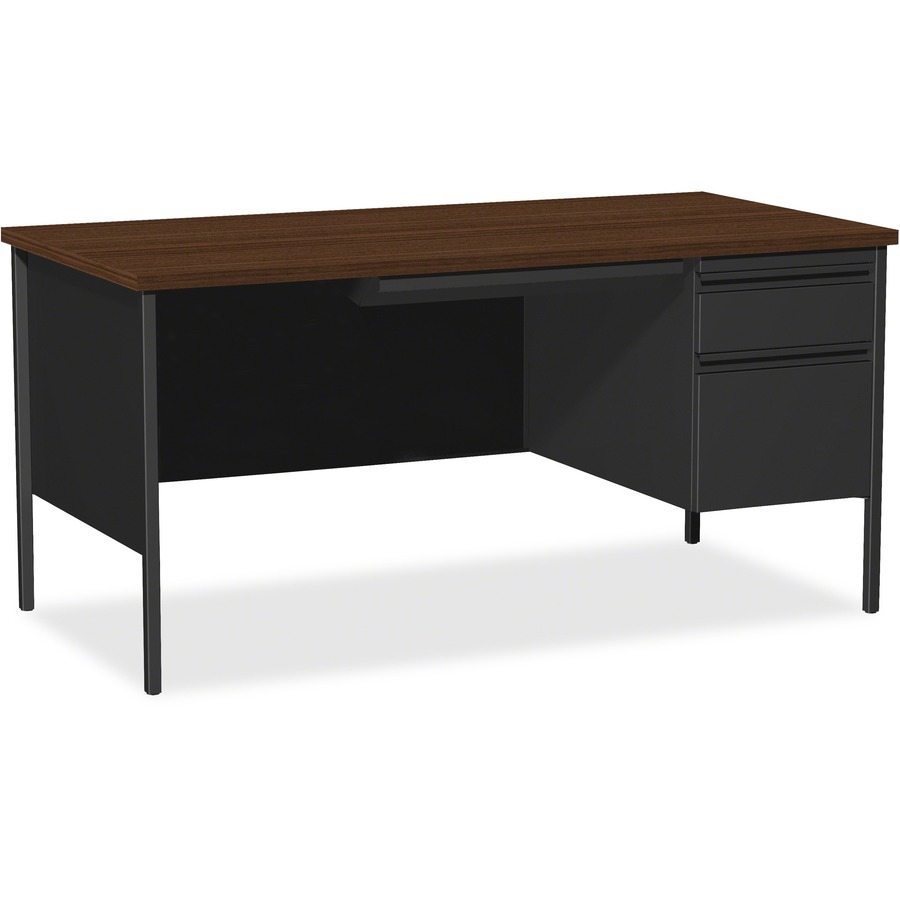Lorell Fortress Series Right Pedestal Desk Llr66905