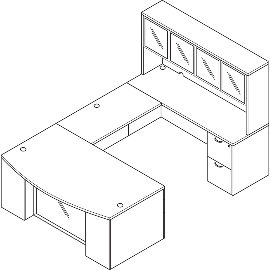 Osp Furniture Napa Office Suite Ospnatyp212gesp