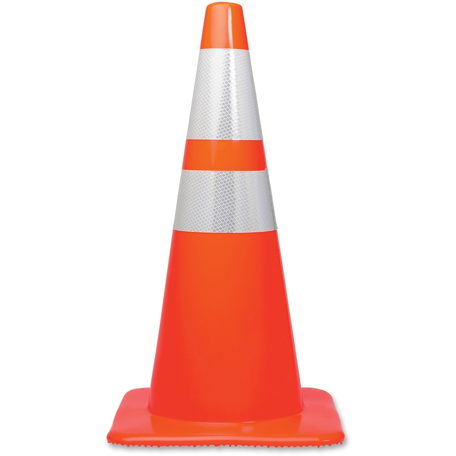 Tatco 28quot Traffic Cone : 1028976645 from www.bulkofficesupply.com size 900 x 900 jpeg 45kB