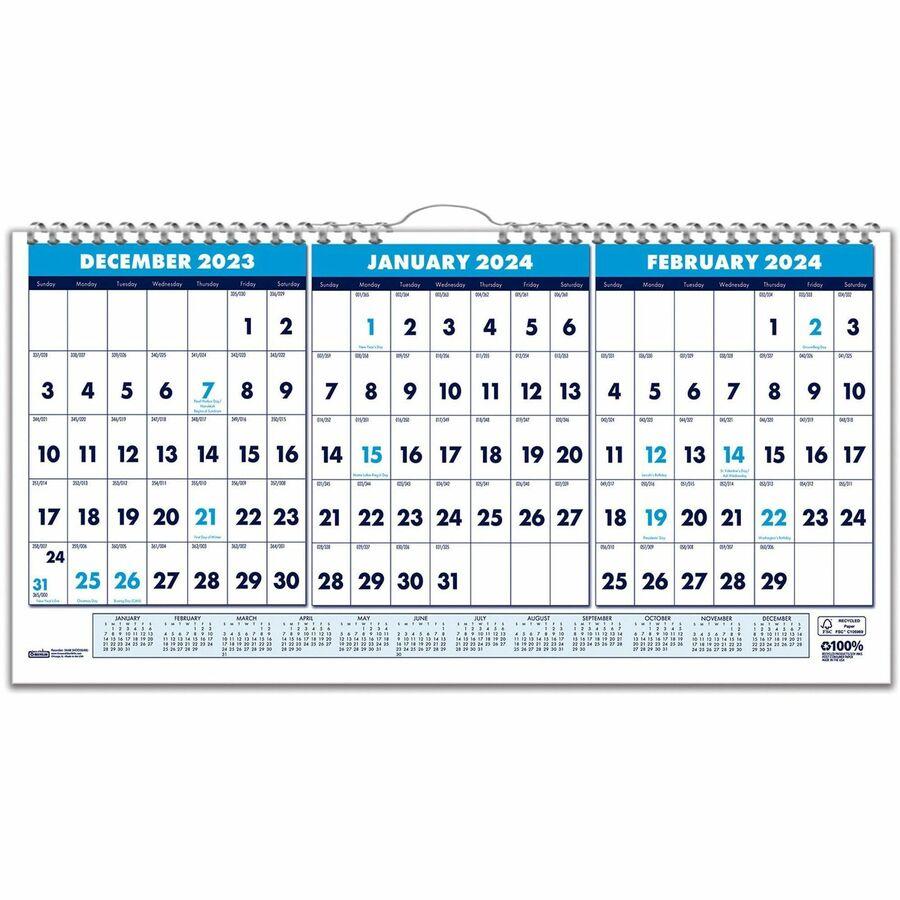 Julian Day Calendar 2022.Bulk School Supplies House Of Doolittle Wall Calendar Hod3648