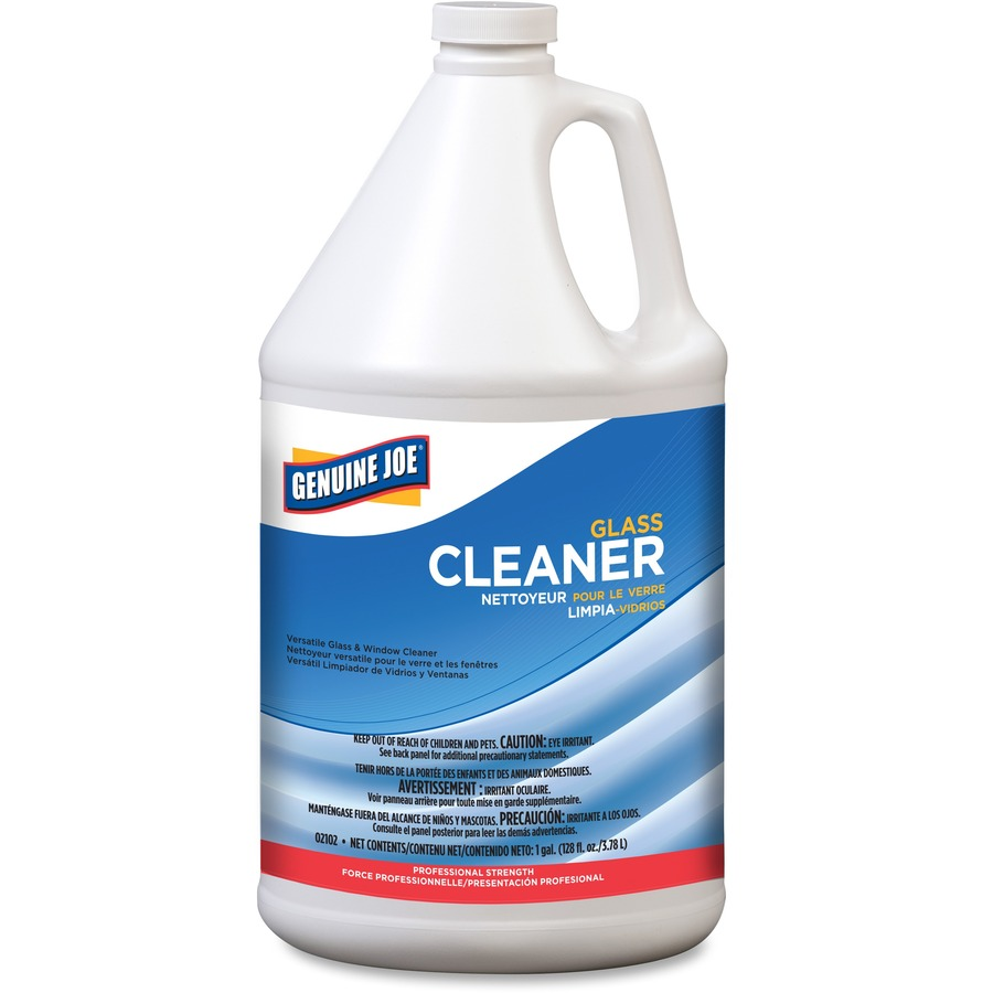 Wholesale genuine joe glass cleaner refill gjo02102ct in bulk for Window cleaner