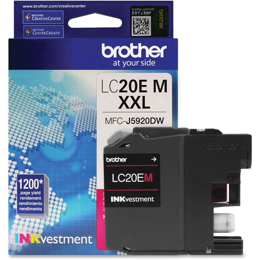 Brtlc20em Brother Genuine Lc20em Inkvestment Super High