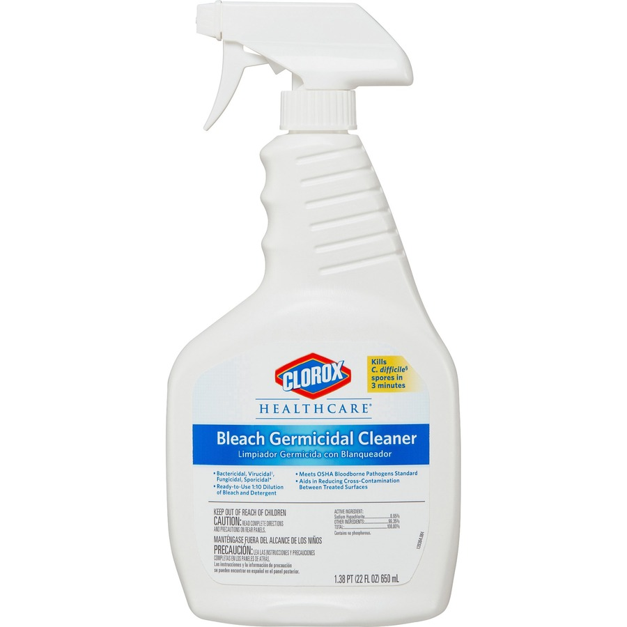 Wholesale Deals On Clorox Healthcare Bleach Germicidal Cleaner