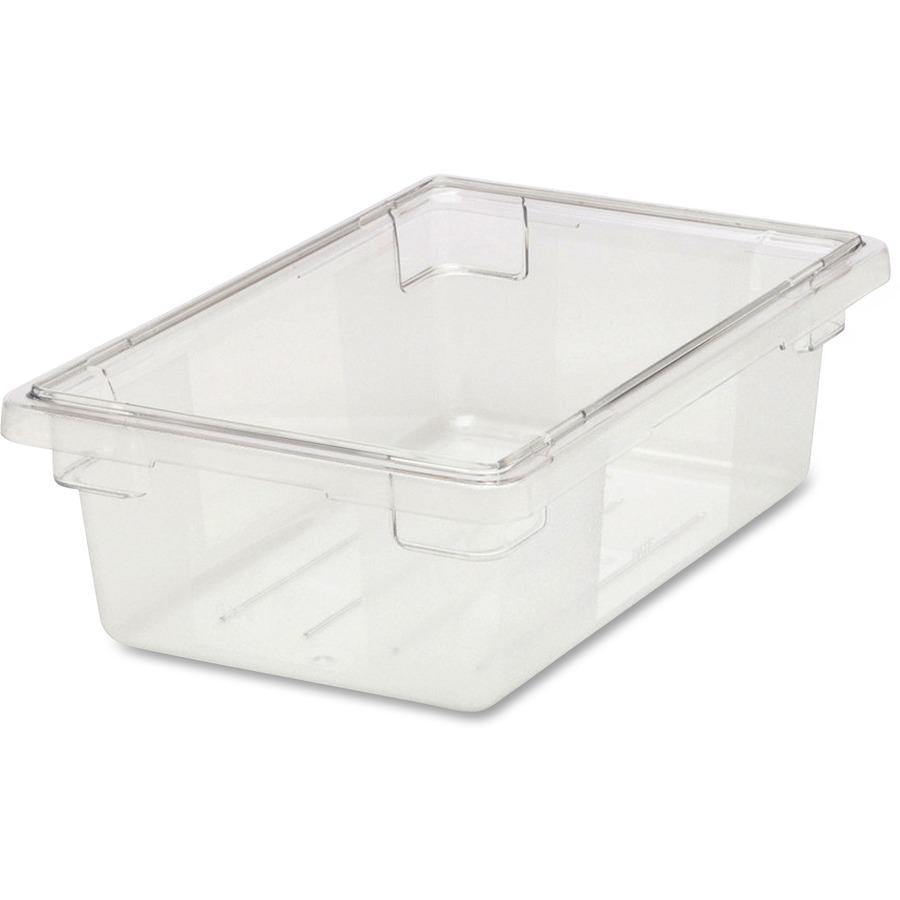RCP330900CLR Rubbermaid Commercial 3 12 Gallon Clear FoodTote
