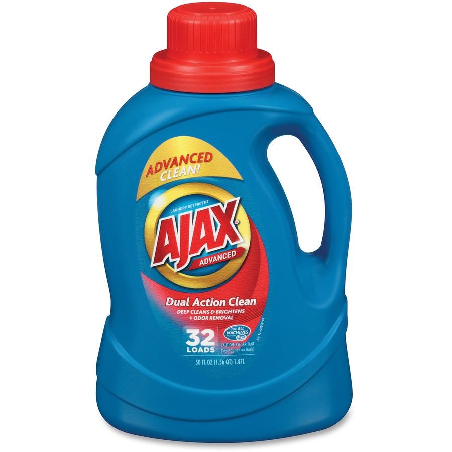 bulk ajax advanced dual action clean laundry detergent