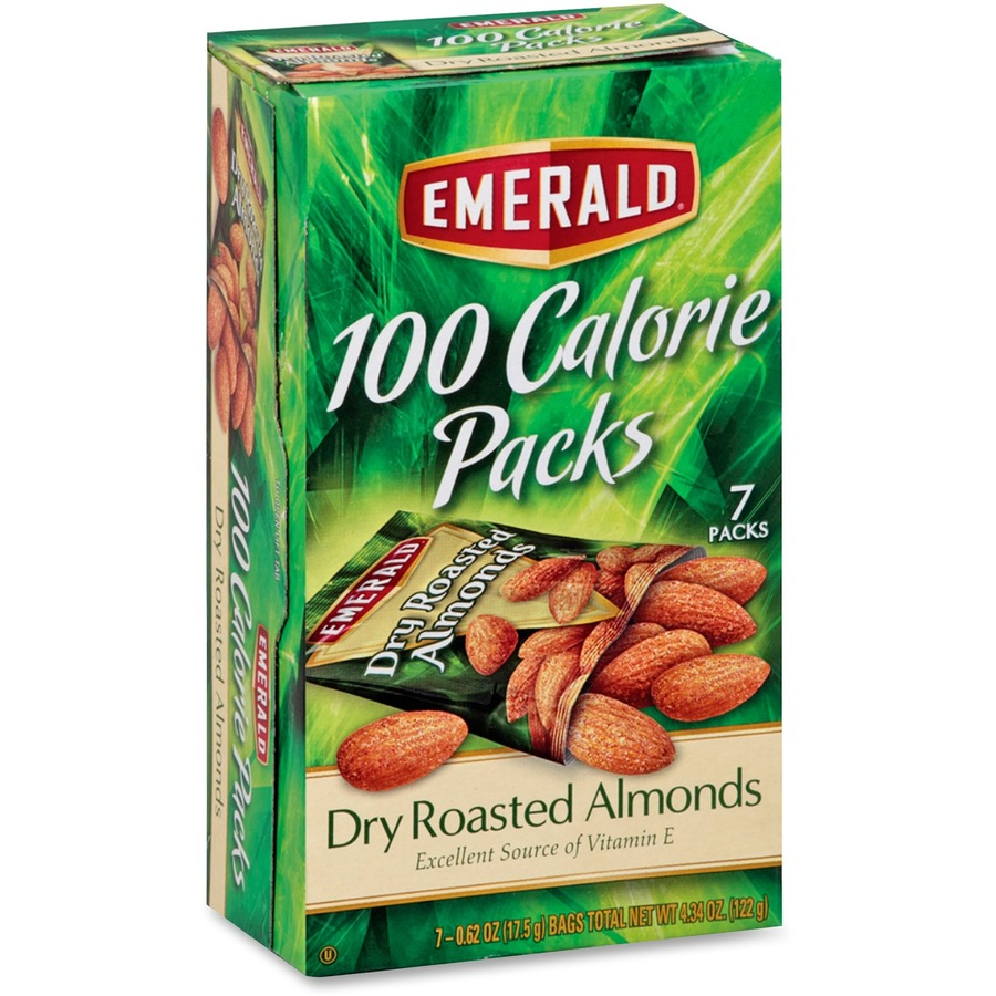 Emerald Diamond 100 Calorie Packs Dry Roasted Almonds Dfd34895