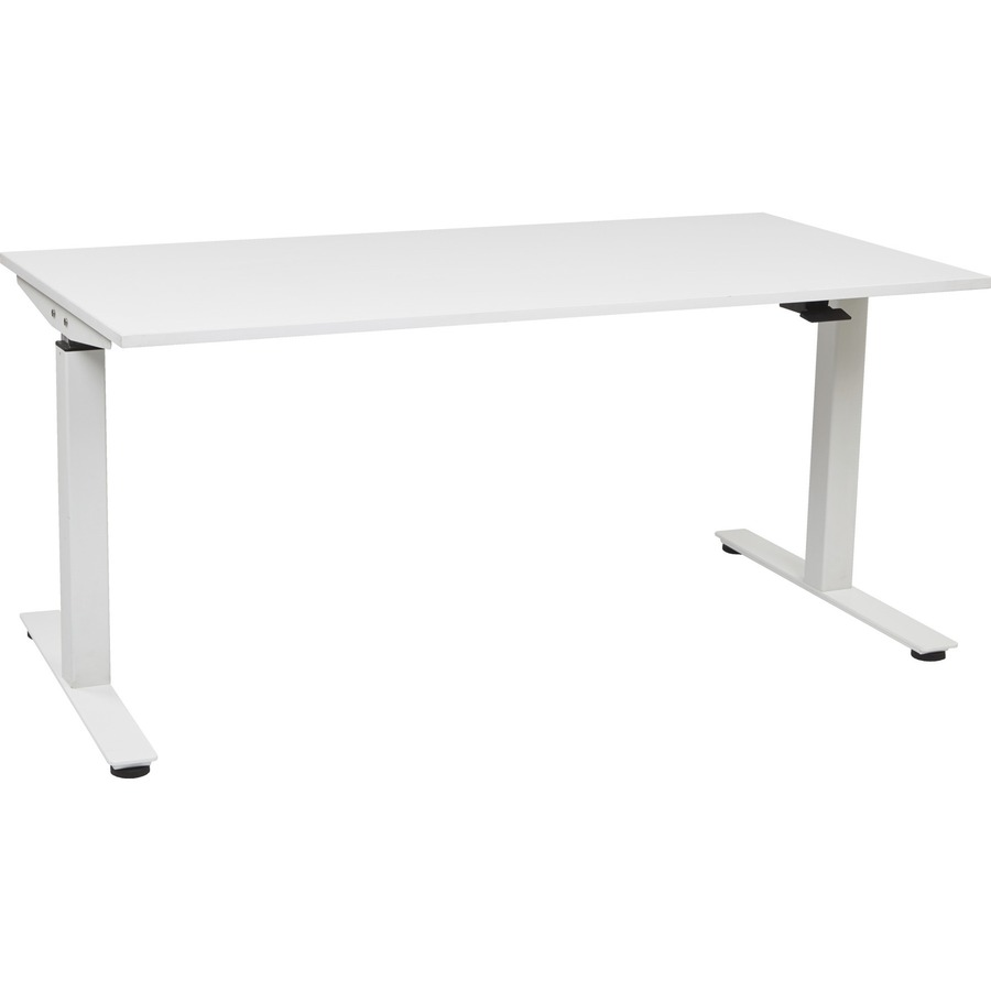 Osp Furniture 24 X 60 Ascend Pneumatic Adjule Height Table Desk Ospasp2460cw
