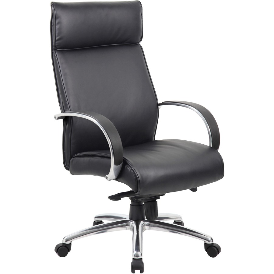 Merveilleux Boss High Back Executive Chair With Coil Spring BOPB7712ABK