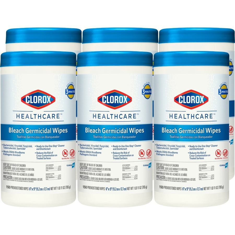 Discounted Deals On Clorox Healthcare Bleach Germicidal Wipes