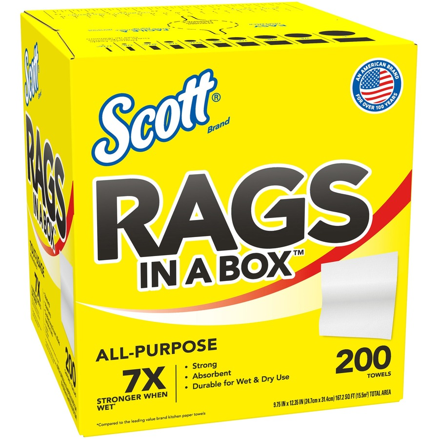 Wholesale Scott Rags In A Box Towels Kcc75260ct In Bulk