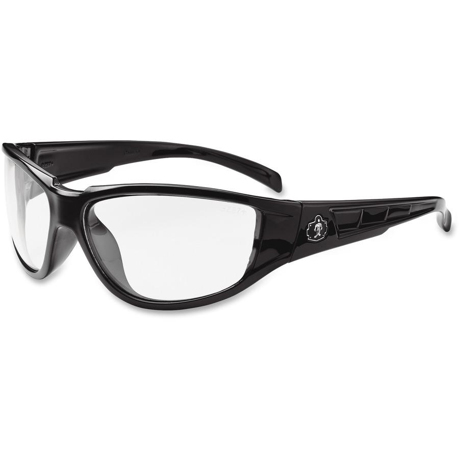 Ergodyne Skullerz Loki Clear Lens Safety Glasses Nylon, ego56000