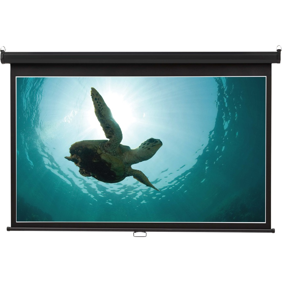quartet wide format projection screen 16 9 aspect ratio. Black Bedroom Furniture Sets. Home Design Ideas