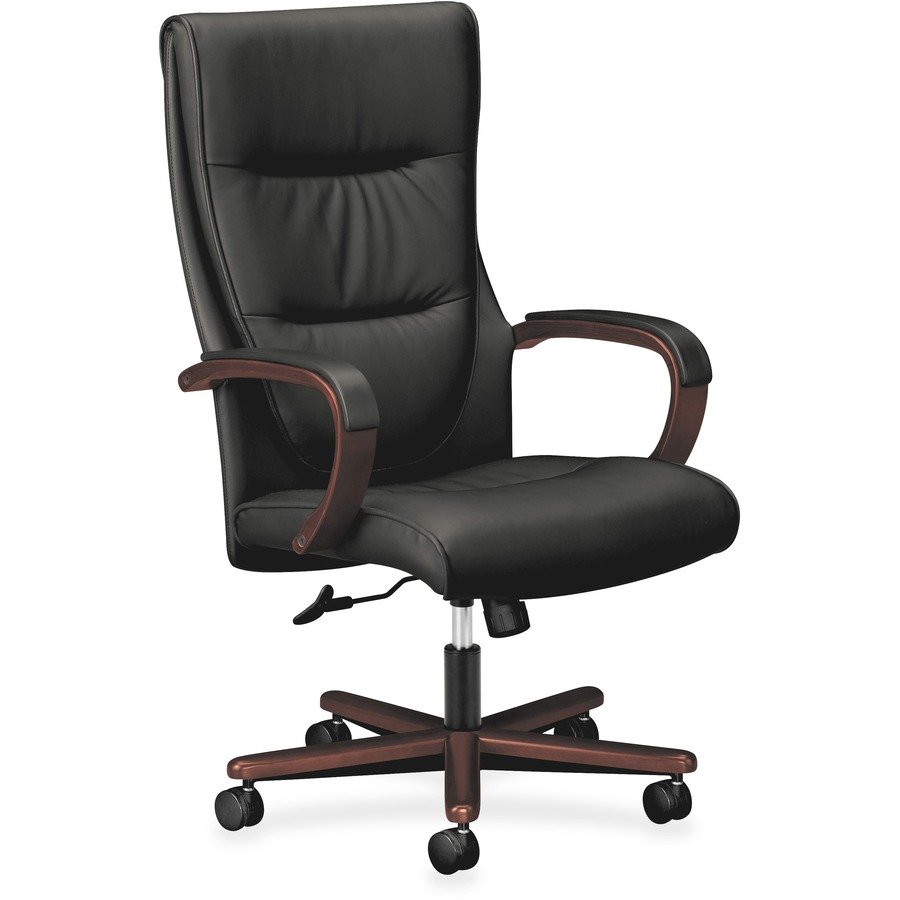 basyx by hon hvl844 executive high back chair  bsx
