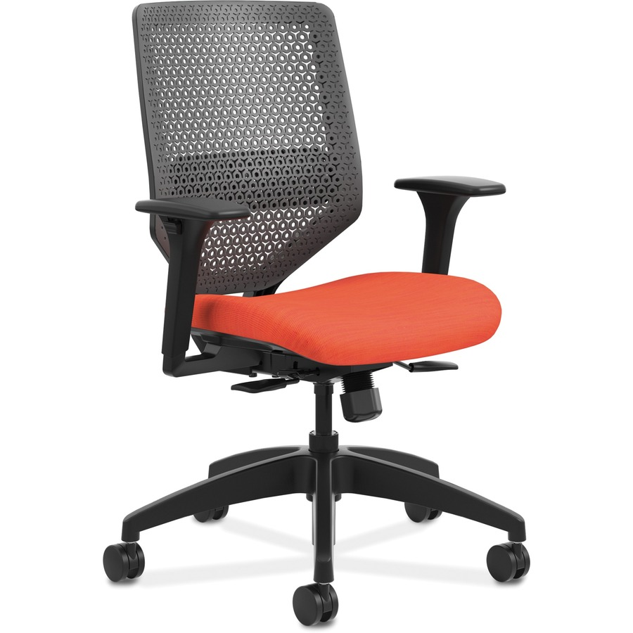 Hon Solve Seating Charcoal Back Task Chair Honsvmr1aclco46